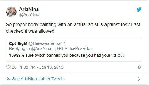 """Đắng lòng nữ streamer bị Twitch Ban thẳng tay chỉ vì thực hiện màn """"khoe ngực"""" lộ liễu"""