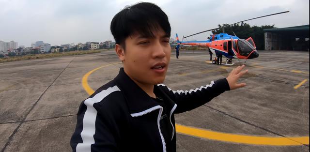 """NTN chơi lớn, thuê hẳn trực thăng bay ngắm cảnh, người xem nhìn mà cảm thán """"Chỉ biết ước"""""""