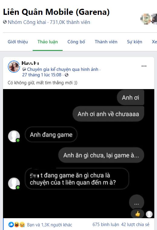 Hỏi han quan tâm người yêu lúc chơi game, cô gái bị ăn chửi té tát và hành động sau đó được CĐM ủng hộ