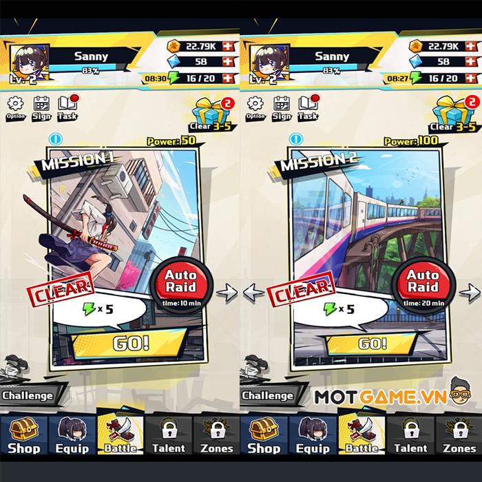 Sword Hunter – Game đi cảnh màn hình dọc với cơ chế chiến đấu siêu đơn giản