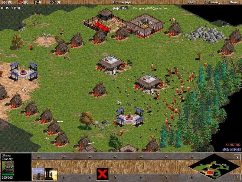 Top 5 Loại quân mạnh nhất trong game Đế chế (AOE) đời 3 không thành