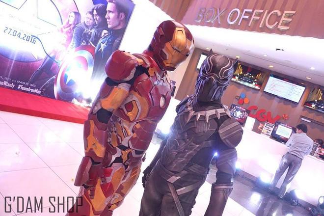 Shop bán đồ cosplay Siêu Anh Hùng cực đẹp tại Hà Nội, nhìn như thật