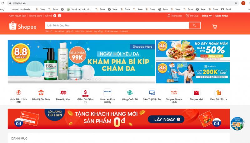 Top 6 ứng dụng mua hàng trực tuyến tốt nhất Việt Nam