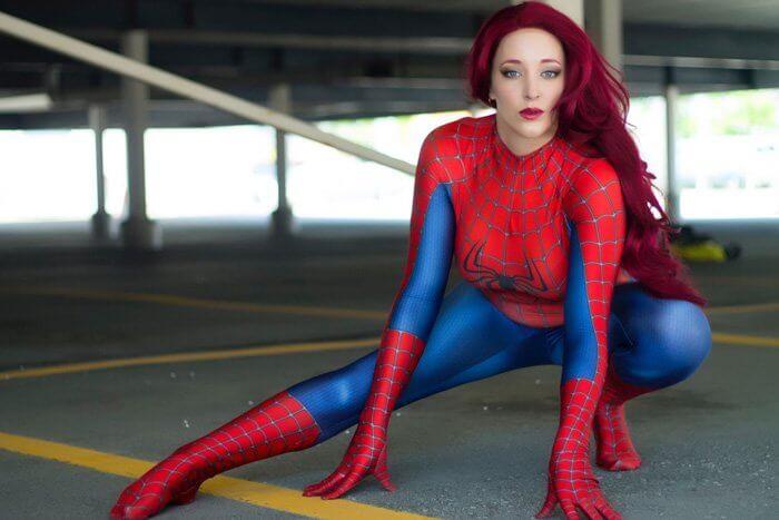 Cosplay Spider-Man mừng ngày Nhện về nhà!