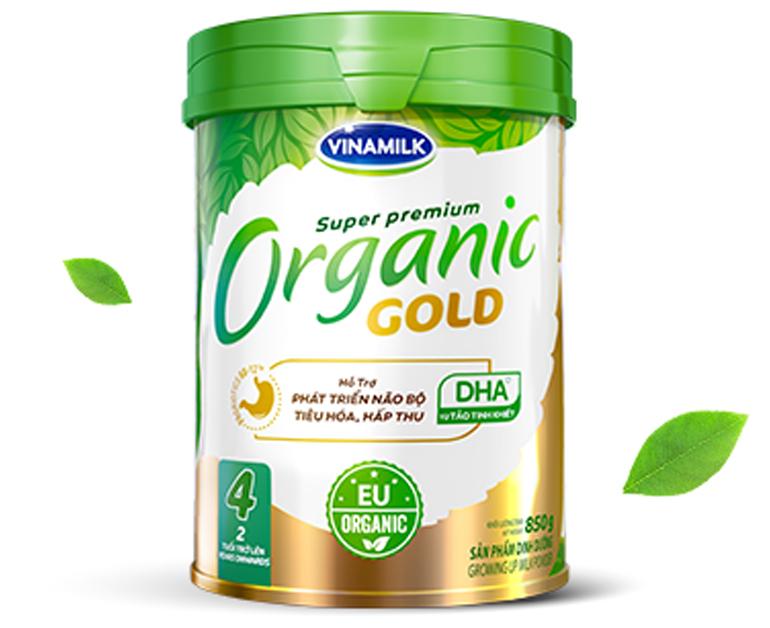 Top 8 Sữa bột organic tốt nhất cho bé hiện nay