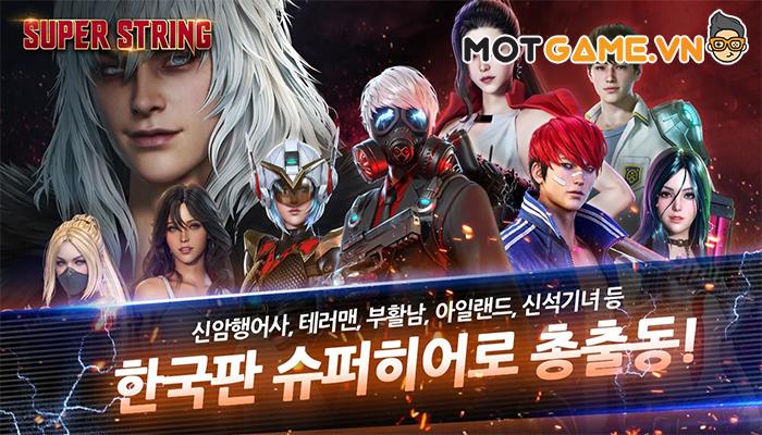 Superstring – Game điều binh khiển tướng sở hữu đồ họa đẹp tựa thước phim bom tấn