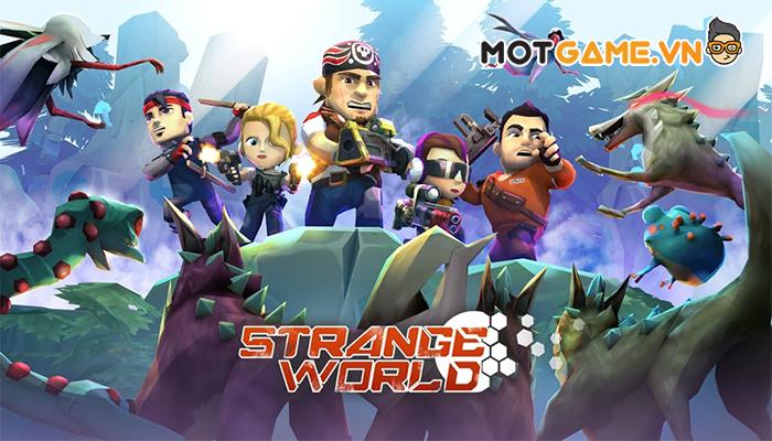 Strange World – Phá vỡ quy chuẩn game di động bằng cơ chế điều khiển cử chỉ trực quan