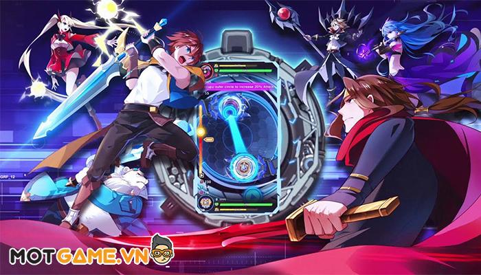 Spiral Warrior – Game nhập vai phong cách anime với lối chơi con quay mới lạ