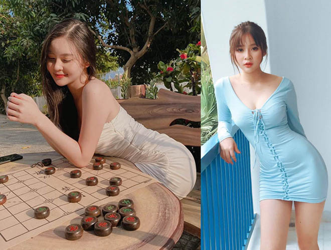 Hot girl Đà Nẵng tập yoga, bơi lội, chơi golf giữ dáng