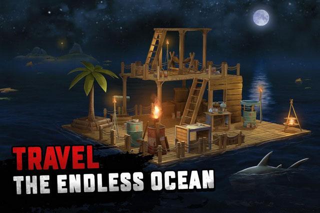 The Raft Survival có mod, hack hay cheat trong game không?