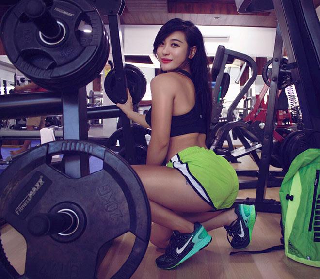 Nữ HLV gym Phương Thúy vòng ba 106cm: Lột xác thành hot girl đầy năng lượng