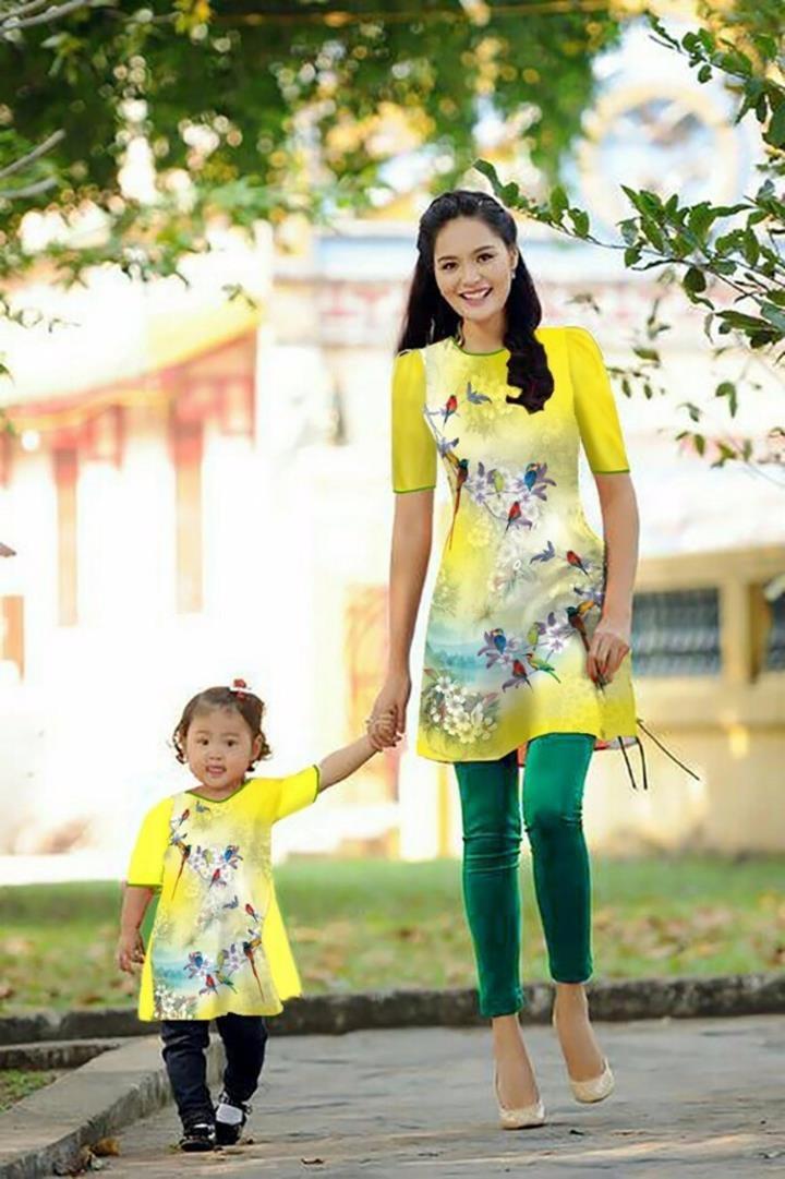 Top 6 Shop áo dài cách tân cho mẹ và bé đẹp lung linh trong dịp Tết