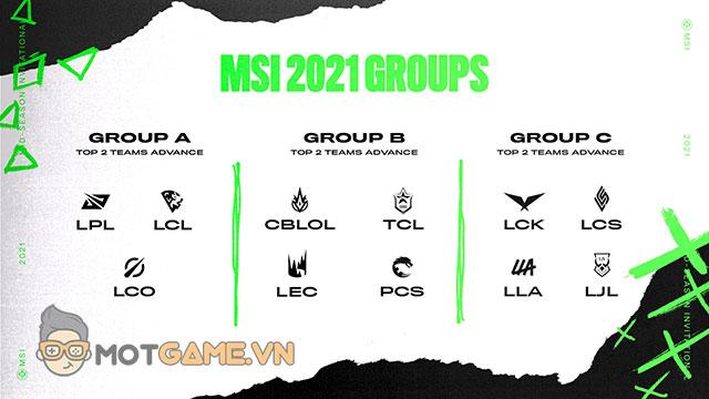 Sốc: VCS không được tham dự MSI 2021 vì một lý do…