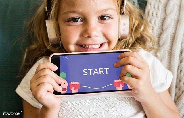 Những trò chơi thích hợp cho bé gái trên điện thoại Android