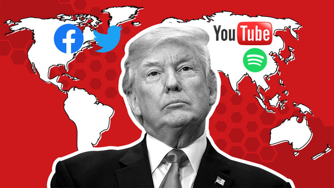 """Vì sao Facebook và giới công nghệ """"quay lưng"""" với ông Trump?"""