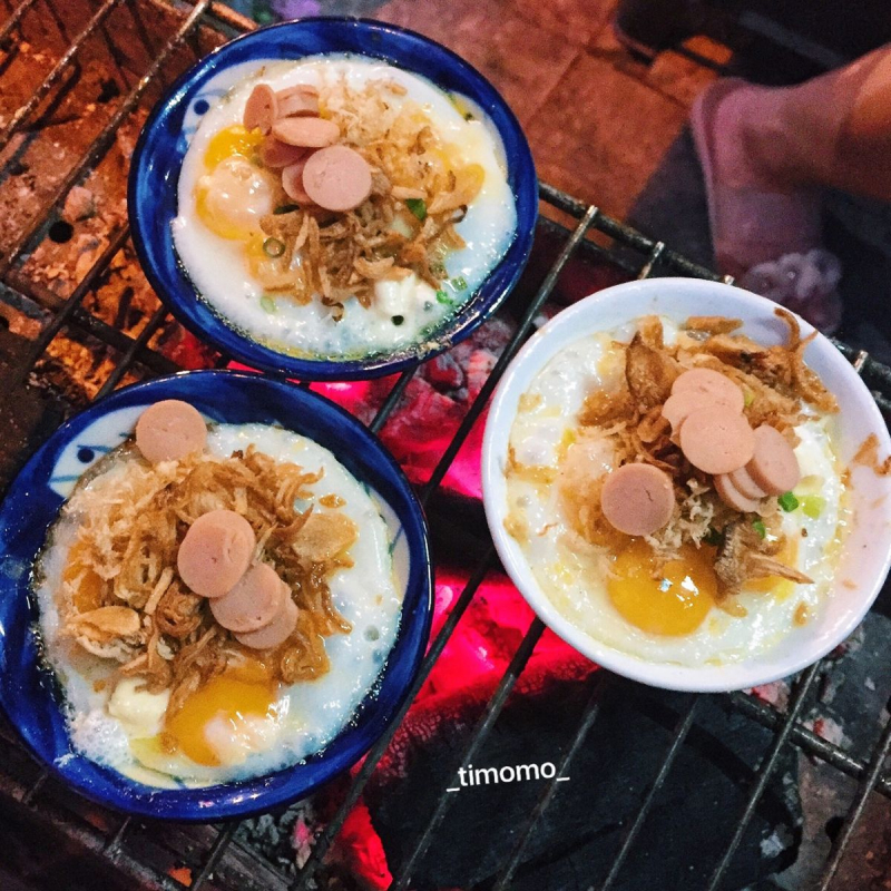 Top 5 Quán trứng chén nướng ngon nhất tại Hà Nội