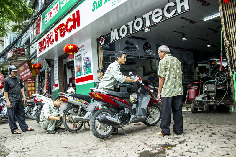 Top 7 Trung tâm bảo dưỡng xe máy honda uy tín nhất ở Hà Nội
