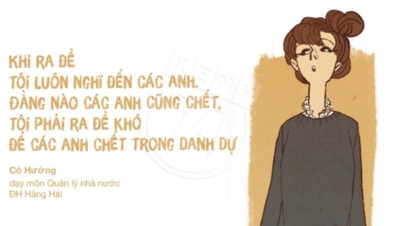 Top 10 Câu nói hài hước nhất của giáo viên Việt Nam