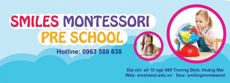 Top 10 Trường mầm non theo phương pháp Montessori được ưa thích ở Hà Nội