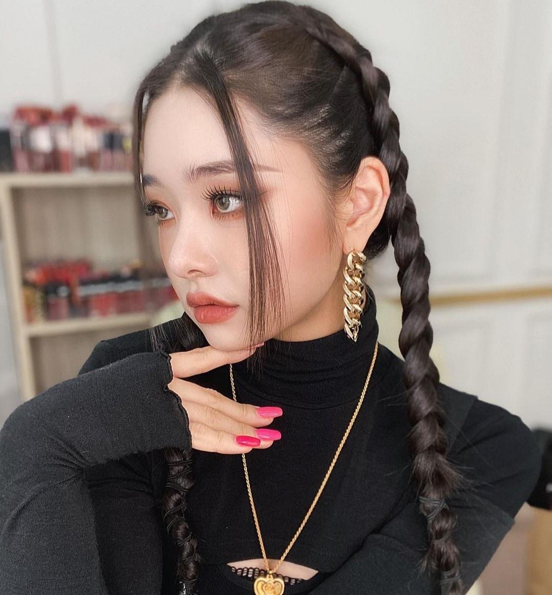 Mốt tết tóc của dàn hot girl châu Á