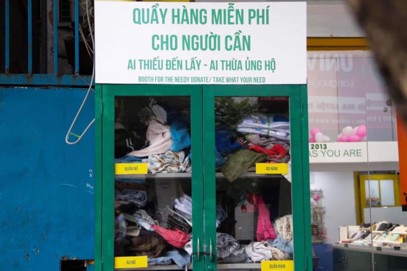 Top 2 Địa chỉ nhận quần áo từ thiện ở Hà Nội