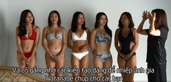 """Thử thách người mẫu truyền hình để thí sinh tạo dáng như """"diễn viên 18+ Nhật"""""""