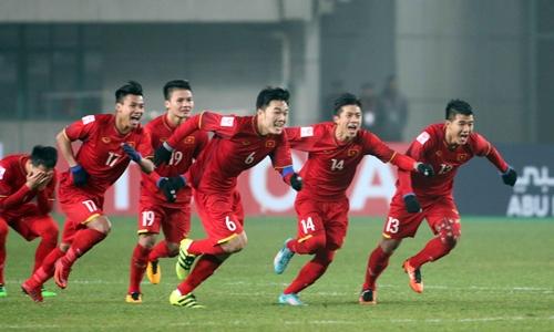 Đánh bại Qatar, các cầu thủ U23 Việt Nam viết gì trên facebook của mình?