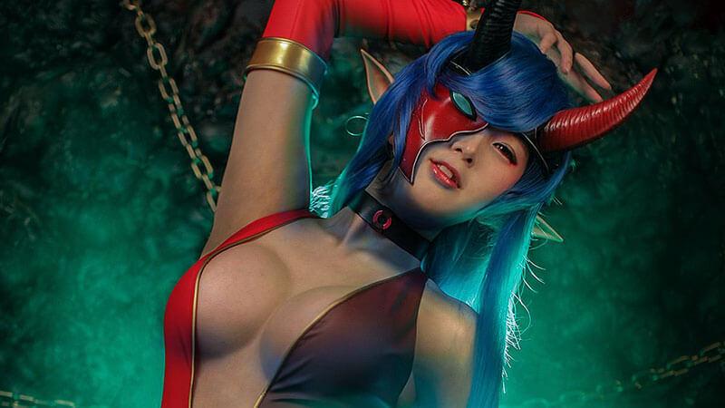 Ngắm cosplay Iris Yuma của Soul Worker bởi nhóm Spiral Cats