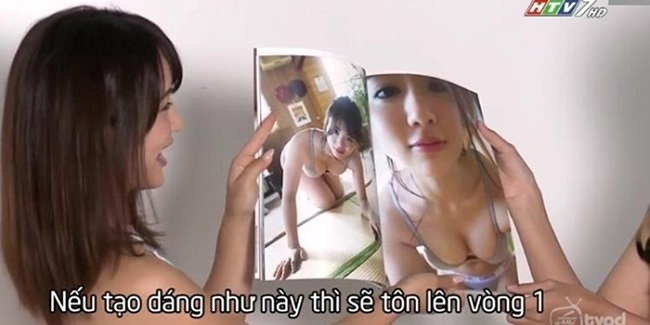 Người mẫu Nhật hướng dẫn tạo dáng gây tranh cãi trên sóng HTV giờ ra sao?