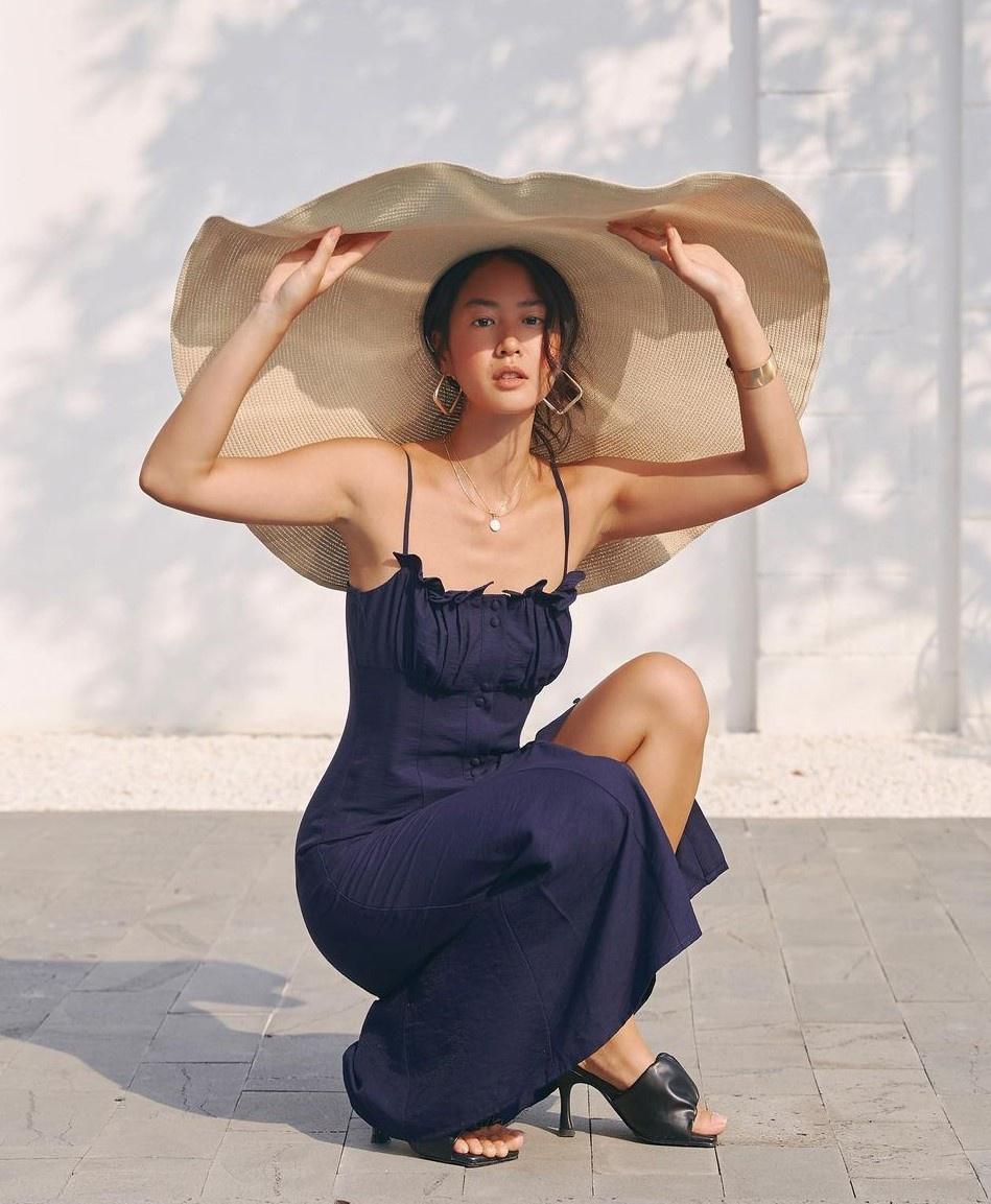 Nữ người mẫu gốc Việt theo đuổi phong cách gợi cảm