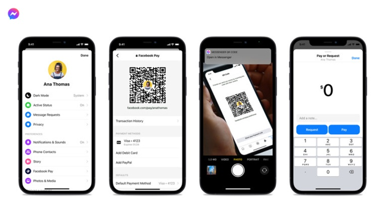 Facebook Messenger cập nhật nhiều tính năng mới