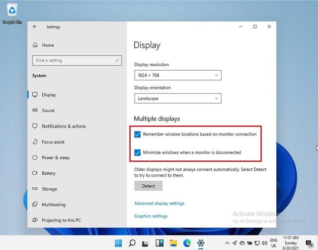 Nhờ Windows 11, bạn sẽ không còn khốn khổ thiết lập PC nhiều màn hình nữa