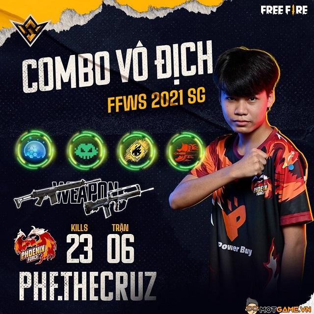 Phoenix Force – đội tuyển vô địch FFWS 2021 SG đã dùng combo kỹ năng như thế nào?