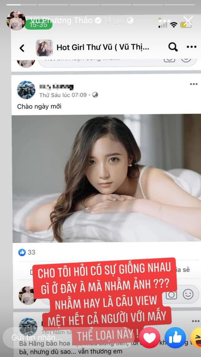 """Hình ảnh nữ MC Liên Quân trôi nổi trong diễn đàn của hot girl lộ clip 18+, chính chủ lên tiếng cực """"gắt"""""""