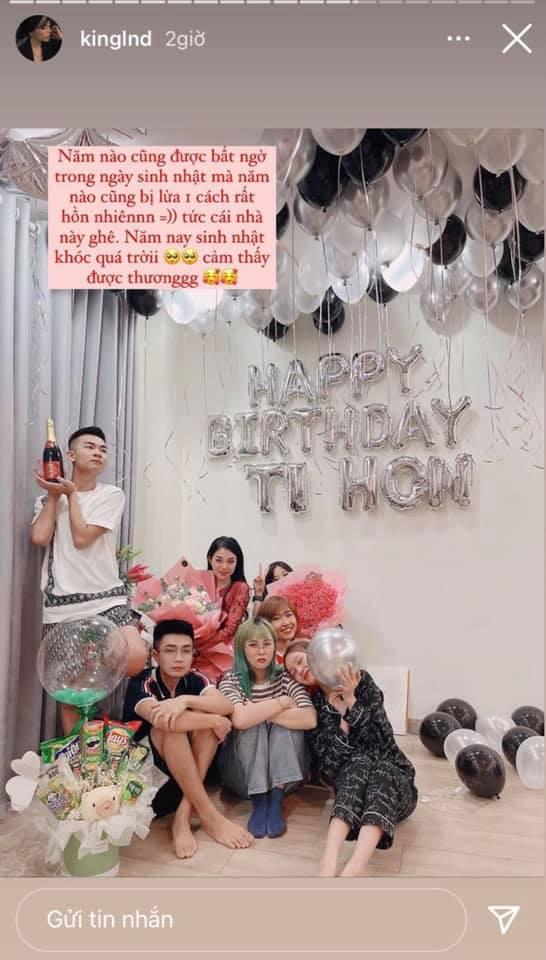"""Không ngừng nỗ lực, hội bạn thân của Linh Ngọc Đàm lại """"đồng khởi"""" làm điều này trong dịp sinh nhật nữ streamer"""