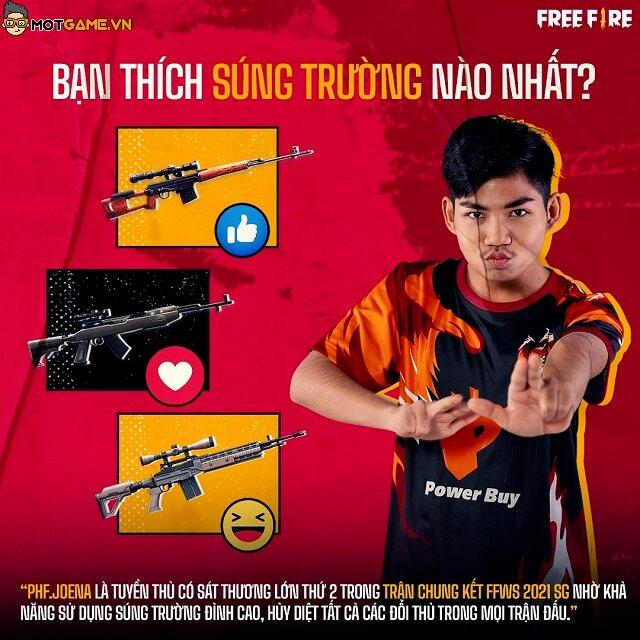 SVD liệu có phải là súng trường bắn tỉa tốt nhất Free Fire?