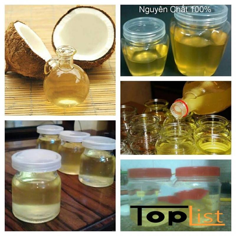 Top 10 Công dụng tuyệt vời của dầu dừa