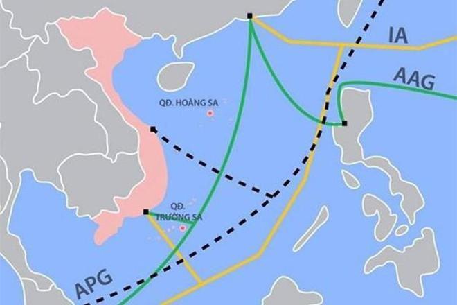 Tuyến cáp quang gặp sự cố khiến đường truyền Quốc Tế bị ảnh hưởng tại Việt Nam