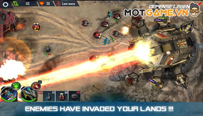 Defense Legend X game thủ tháp thế hệ mới với tạo hình Boss to vật vã!