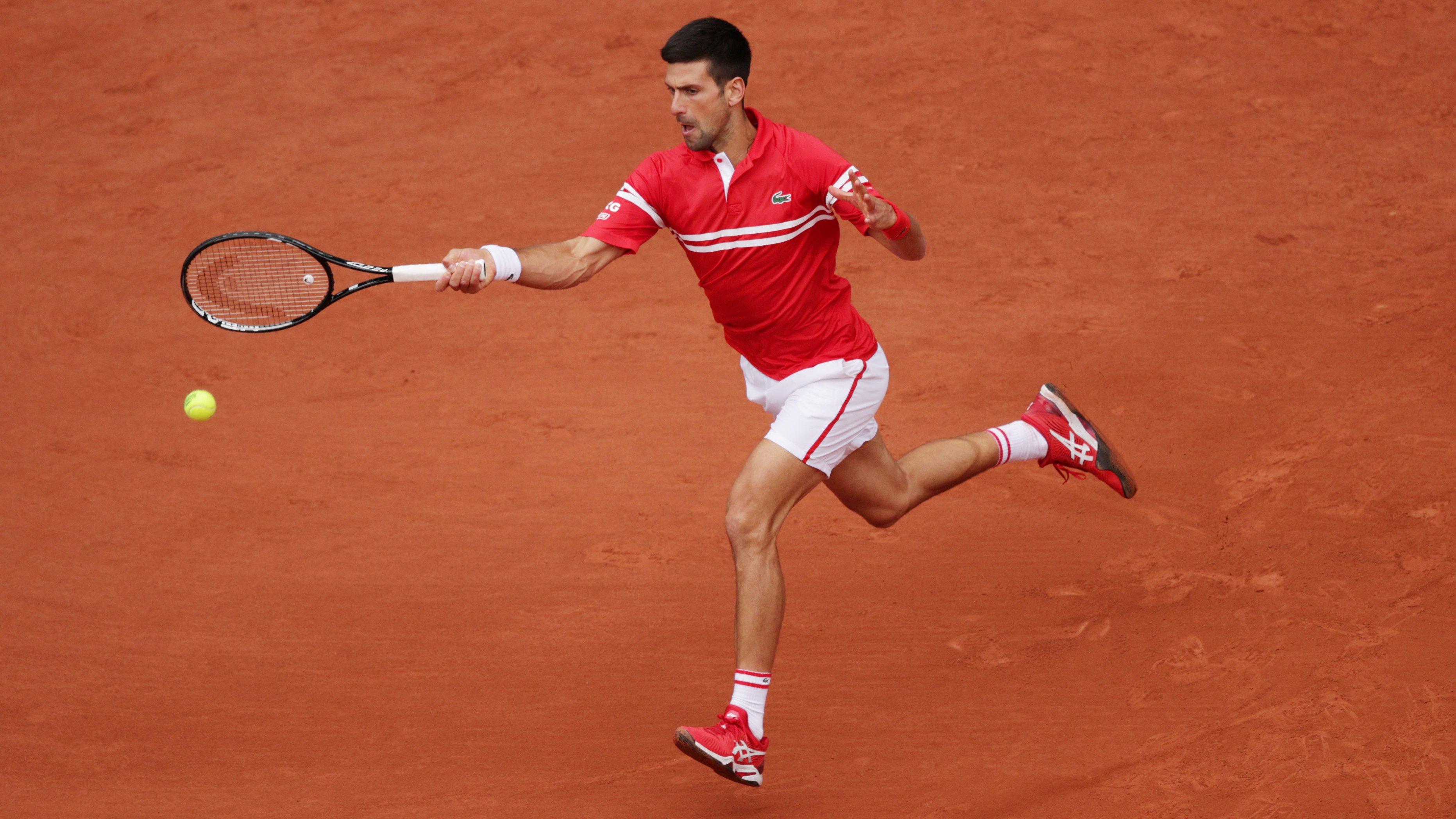 Djokovic vượt kỷ lục của Nadal tại Pháp Mở rộng