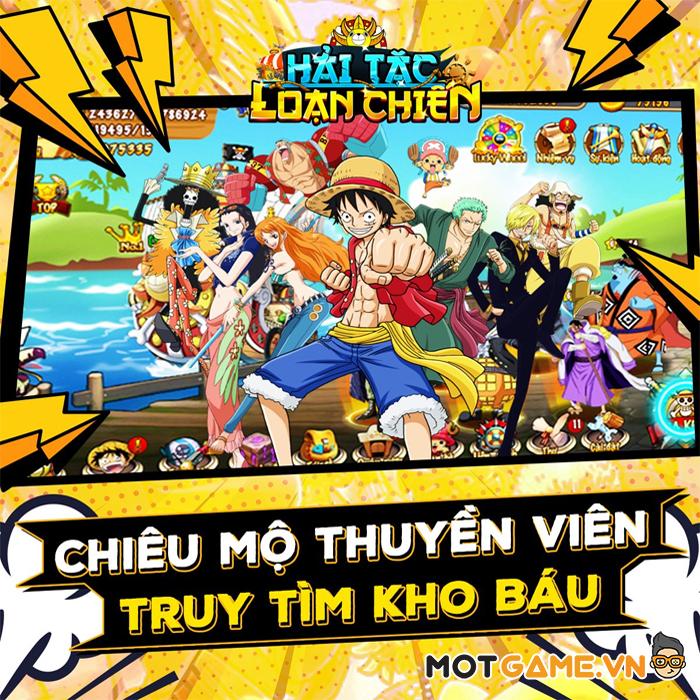 Hải Tặc Loạn Chiến game thẻ tướng đề tài One Piece kết hợp 12 cung hoàng đạo sắp ra mắt