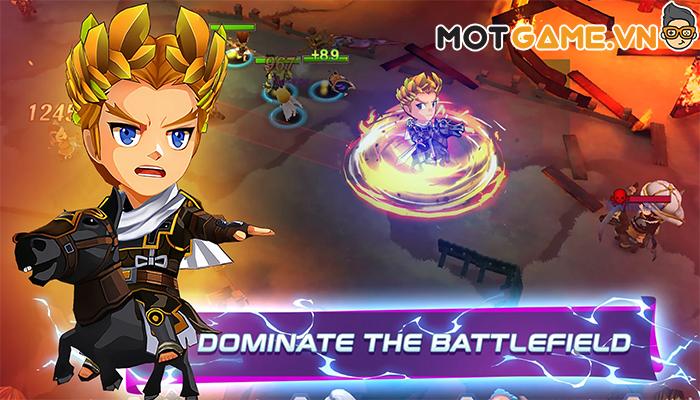 Mythical Showdown game thẻ tướng hành động tập hợp anh hùng đa vũ trụ