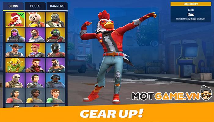Outfire™ game mobile bắn súng đối kháng phong cách Counter-Strike với nhiều đột phá