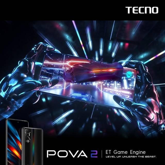 TECNO Mobile quay lại Việt Nam với mẫu Gaming Phone POVA 2