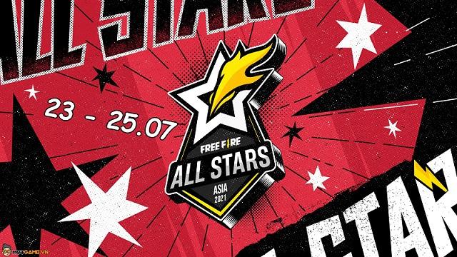 Free Fire All Stars 2021: Lịch thi đấu mới nhất