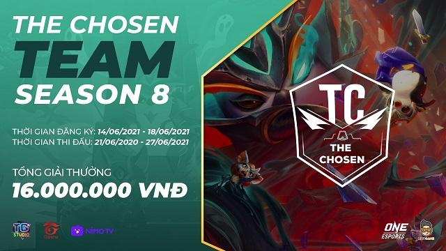 Chi tiết giải đấu ĐTCL The Chosen mùa 8 – The Chosen Team