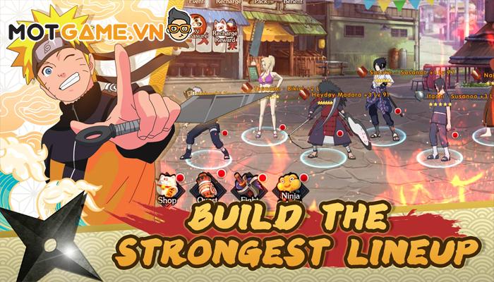 Ultimate Fight: Survival game Naruto chất lượng cao dành cho máy yếu