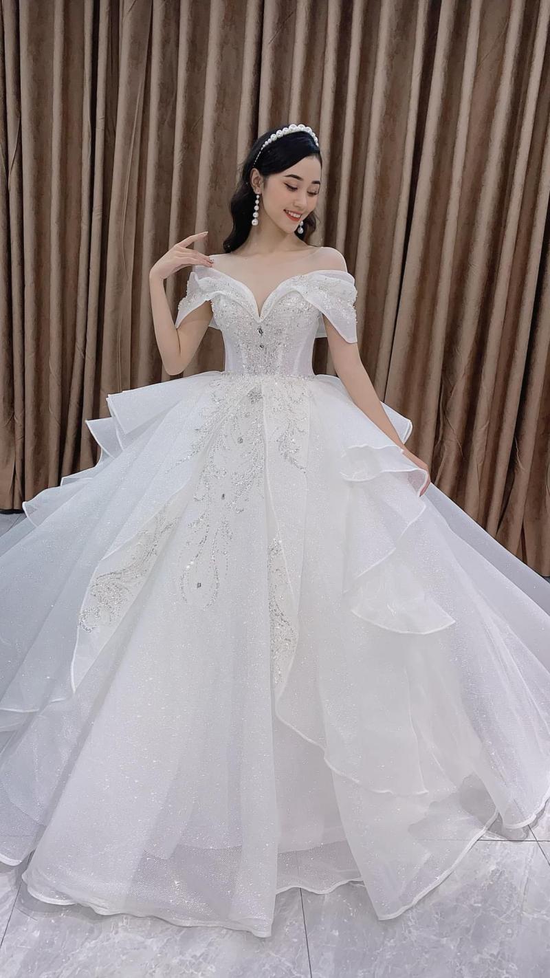Top 10 Địa chỉ cho thuê váy cưới đẹp nhất Bắc Giang