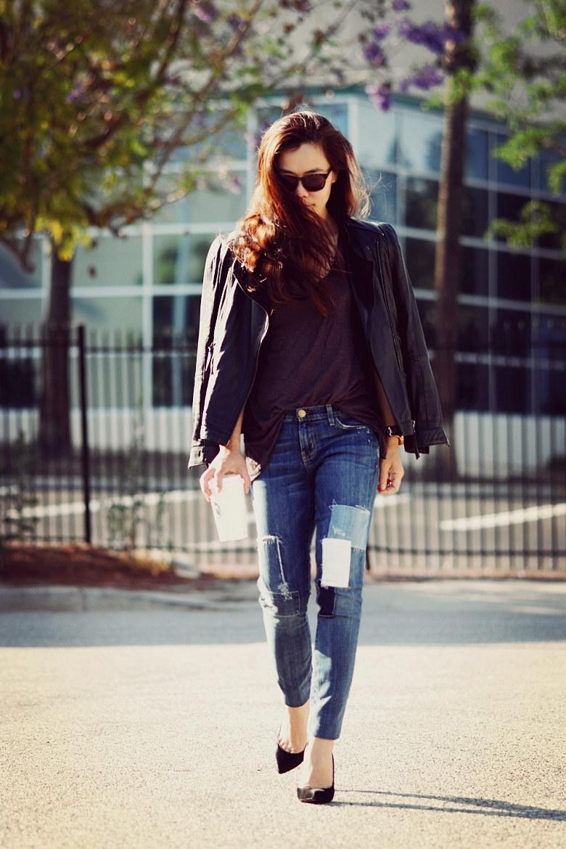 Top 6 Cách phối đồ với quần jean rách cực chất mà vẫn ấm áp