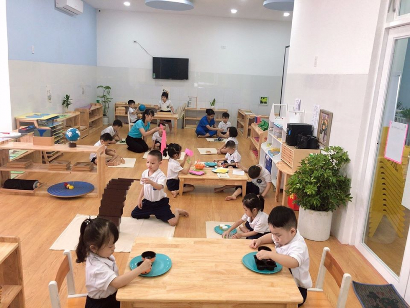 Top 7 Trường mầm non theo phương pháp Montessori được ưa thích ở Đà Nẵng